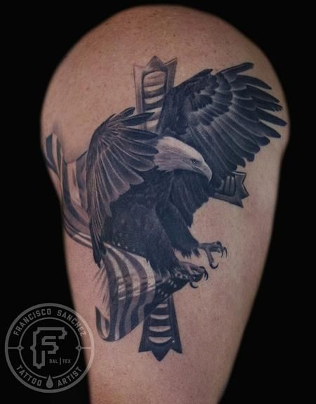 dff333944 Cat Tattoo : Tattoos : Francisco Sanchez : bald eagle tattoo | Kids ...