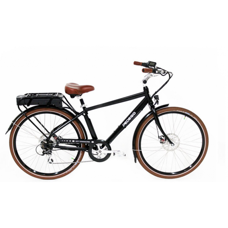 Pedego City Commuter Black Frame Electric Commuter Bike