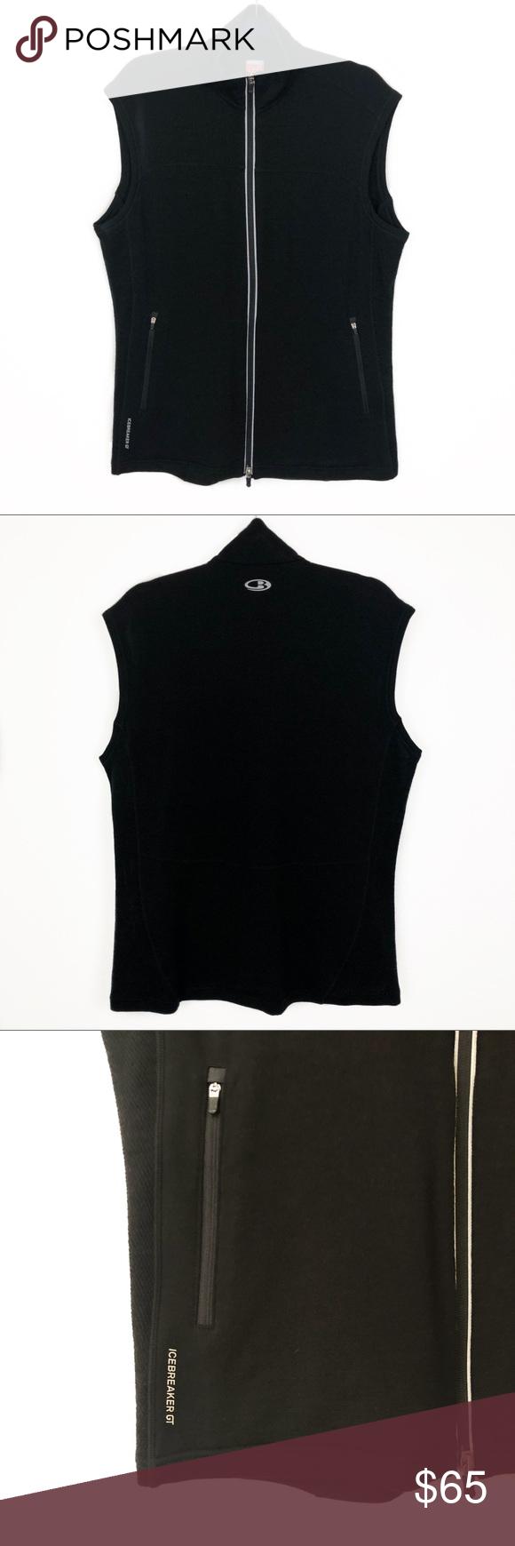 Icebreaker Gt 260 Midweight Wool Zip Vest Wool Vest Midweight Clothes Design