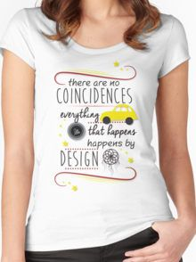 Once Upon a Time Quote - Neal   Emma (Swanfire) Women s Fitted Scoop T-Shirt 8095a73765