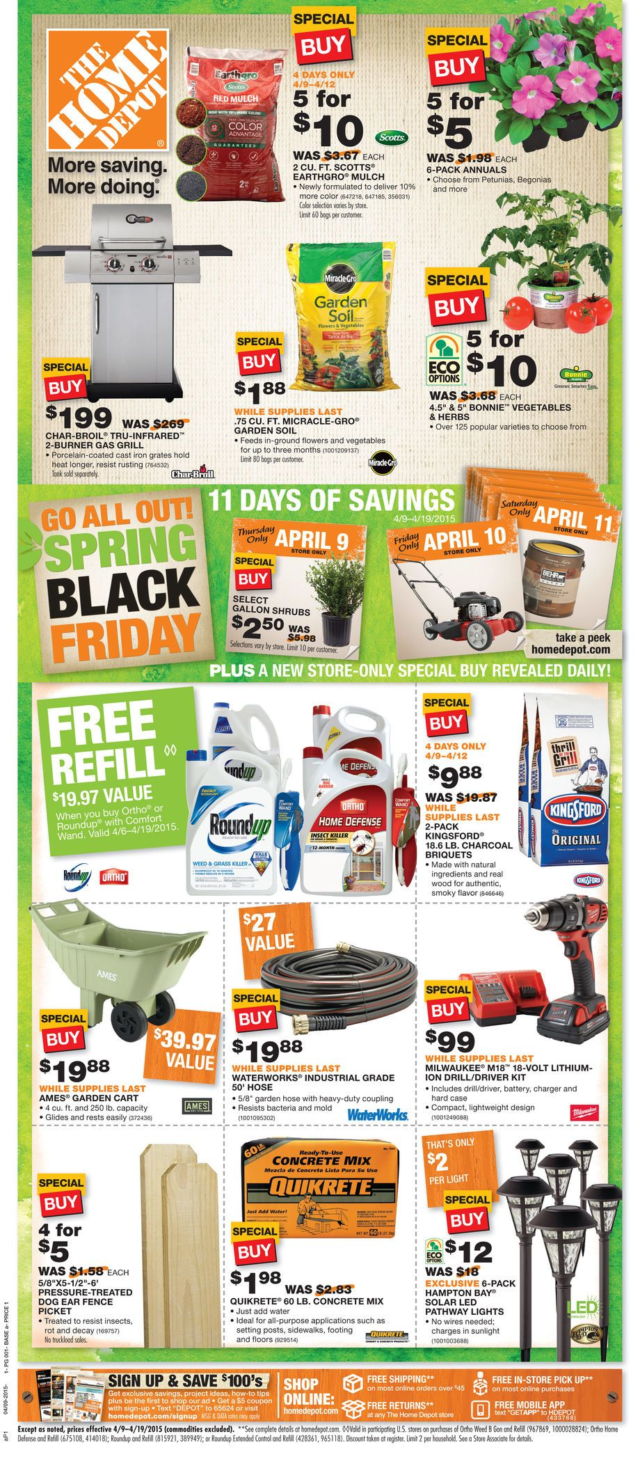 Atlanta Home Depot Local Ads Guides and Catalogs