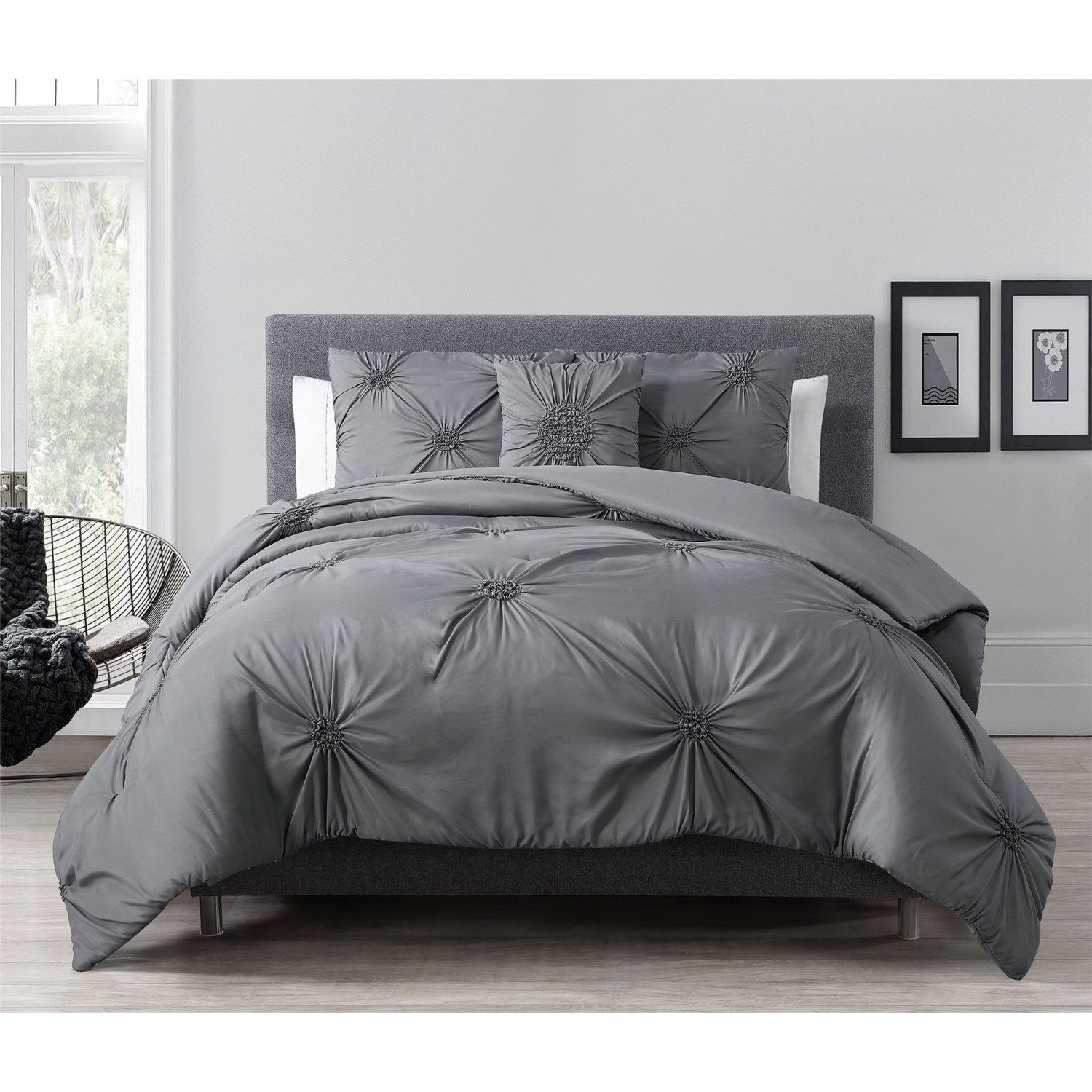 comforter bedspread pinterest powerful pin gray set queen piece blessed
