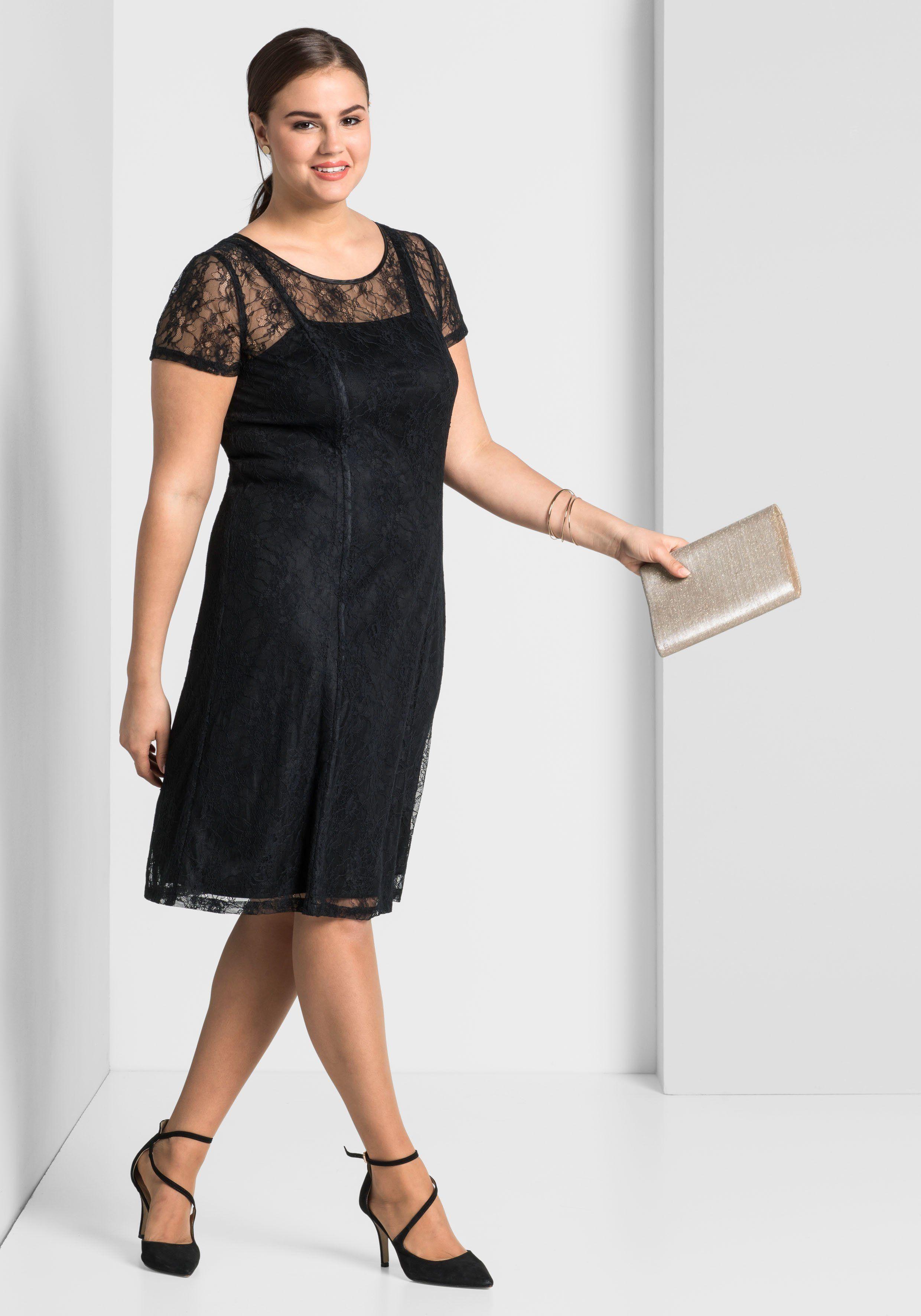 sheego Style Cocktailkleid Jetzt bestellen unter   https   mode.ladendirekt.de 4cfabdb622