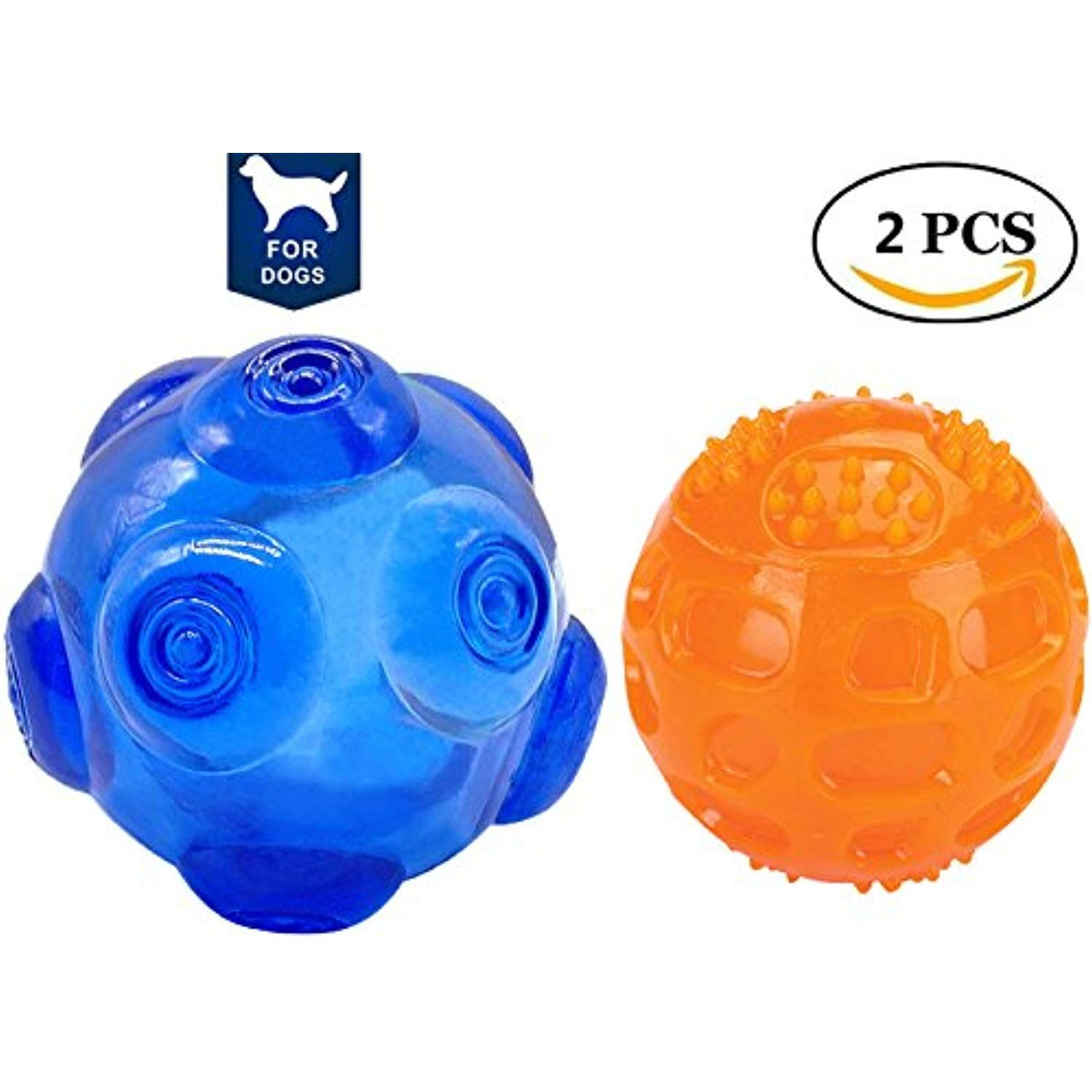 Squeaky Fetch Toy Ball Unicool Durable Soft Non Toxic Nature