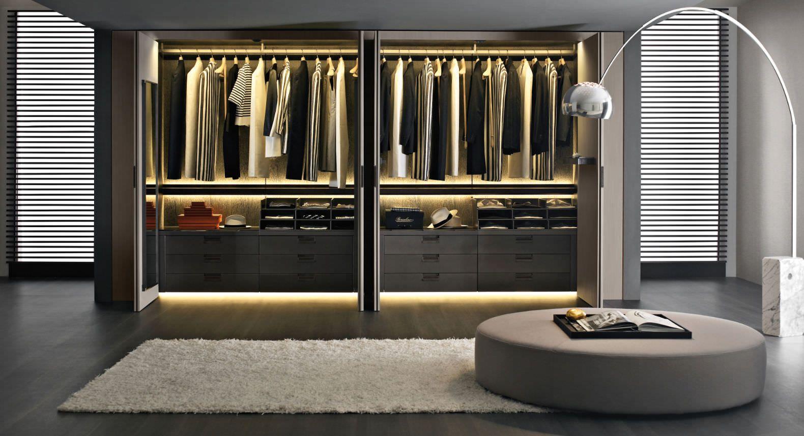 antonio citterio mirto Walk in closet design, Wardrobe