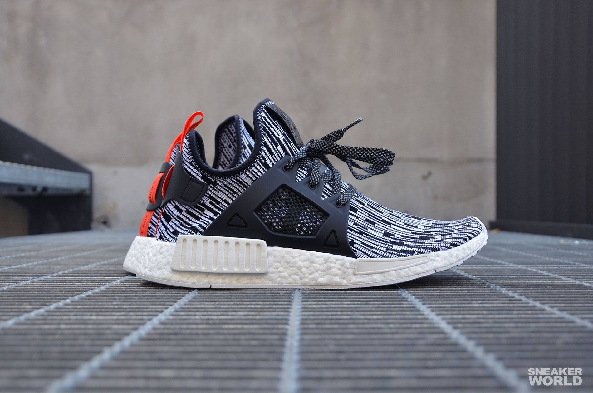 Adidas NMD XR1 PK OG Core Black Blue Red Size 11.5. BY1909