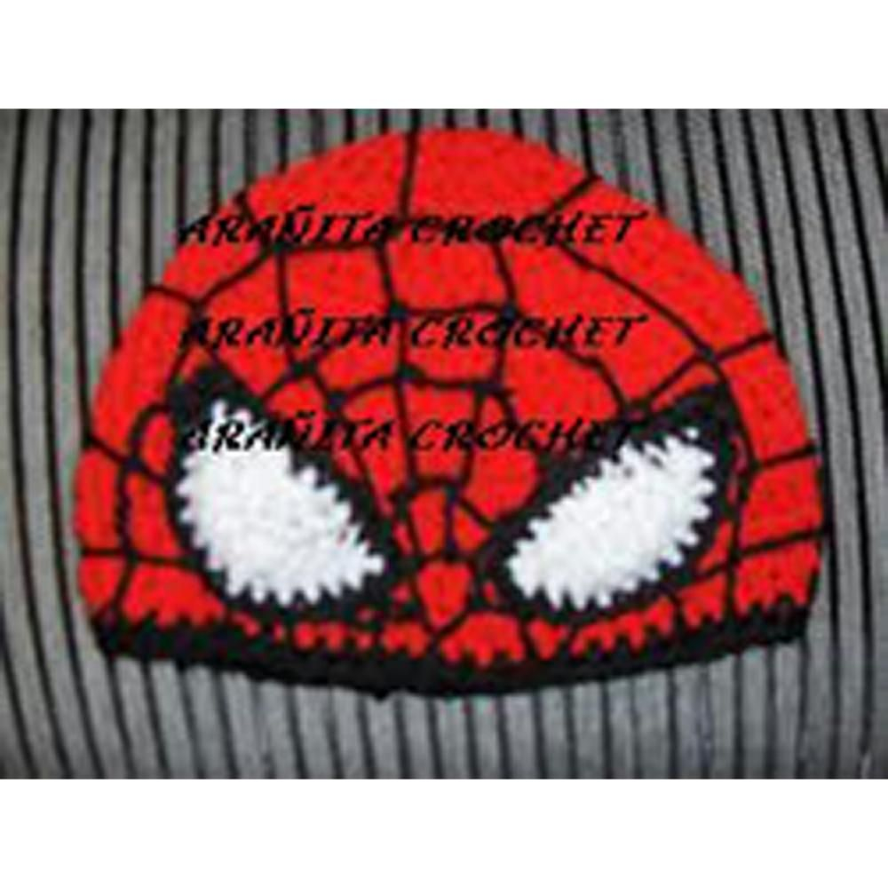 Gorro spiderman | gorros | Pinterest | Spiderman, Hombre araña y Gorros