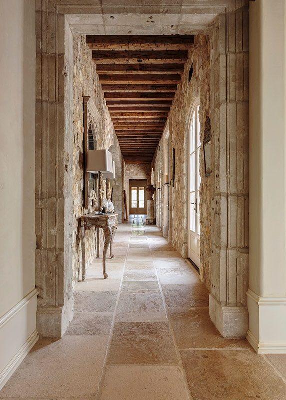 Dark Wood Floors Gray Walls