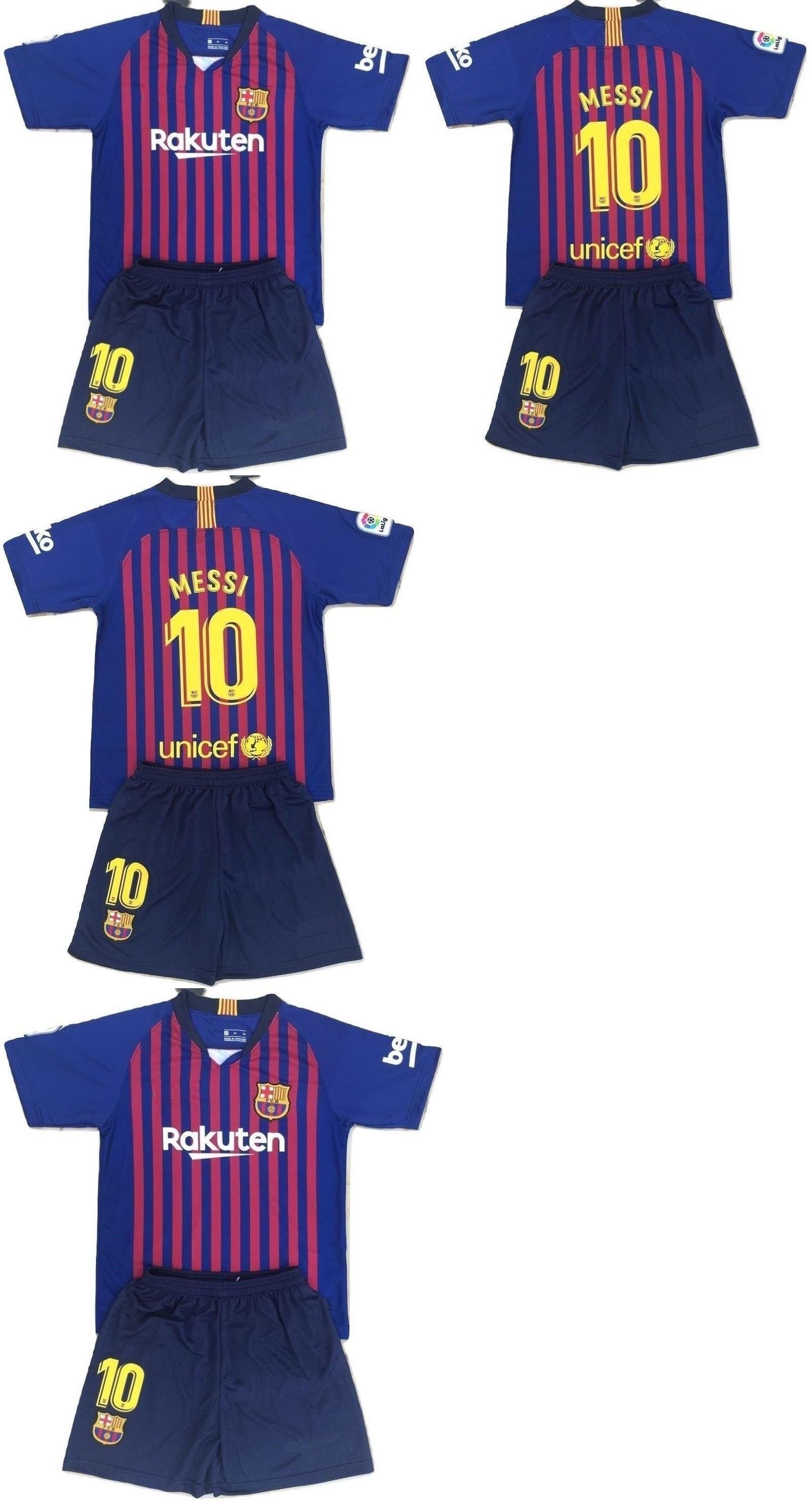 04501268b Clothing 33485  Messi Barcelona Kids Boys Set Soccer Jersey Uniform Kit  Small ( 8-9 Yrs Old ) -  BUY IT NOW ONLY   19.99 on  eBay  clothing  messi  ...