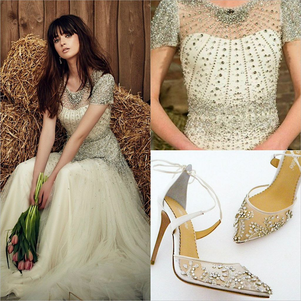 Infatuation 3 Jenny Packham Dixie Gown With Our Bella Belle