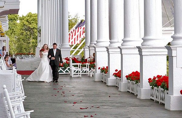 Michigan Wedding Venues Mackinac Island Mi Tourism Board