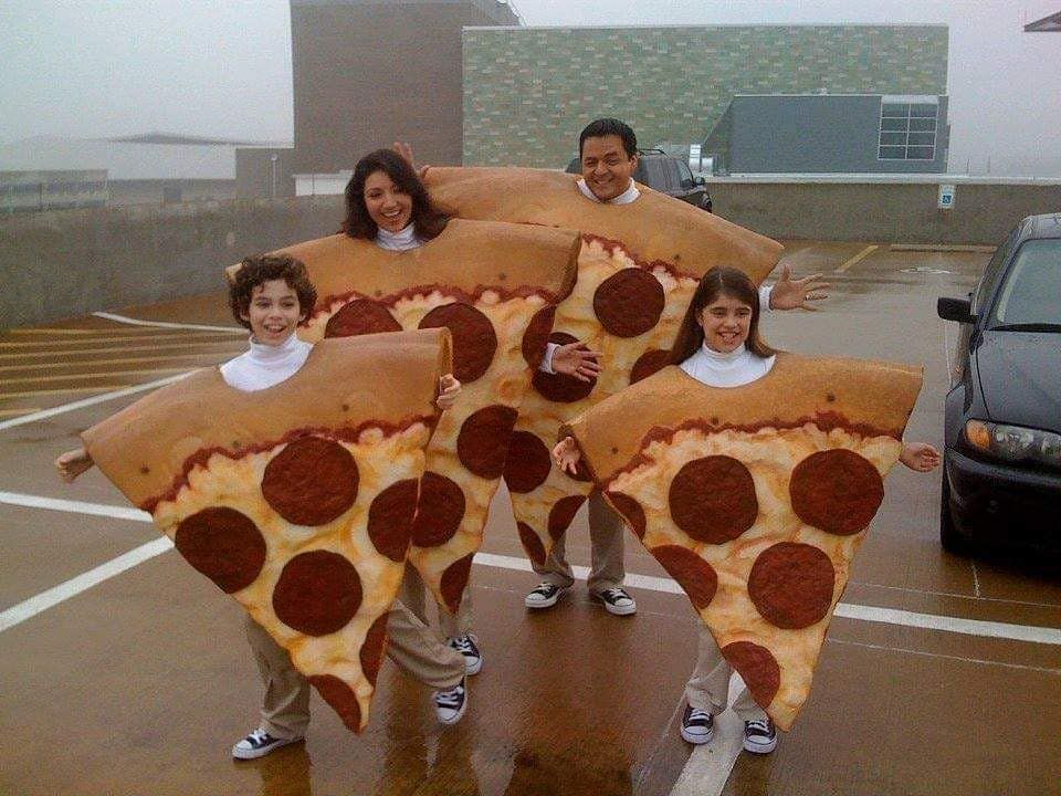 "Pizza Schmizza on Instagram: ""How to win Halloween:"""