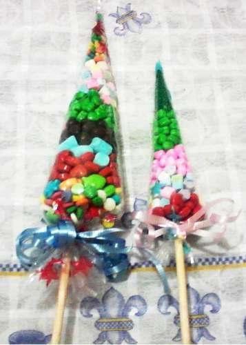 Fotos de bolos dulceros y adornos navide os ideas para for Manualidades souvenirs navidenos