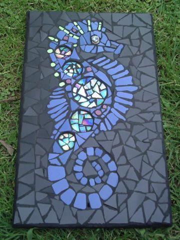 seahorse | mosaic maddness | Pinterest | Mosaic, Mosaic ...