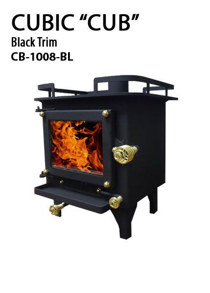 Cb 1008 Cub Cubic Mini Wood Stove Pipe Diameter Laser
