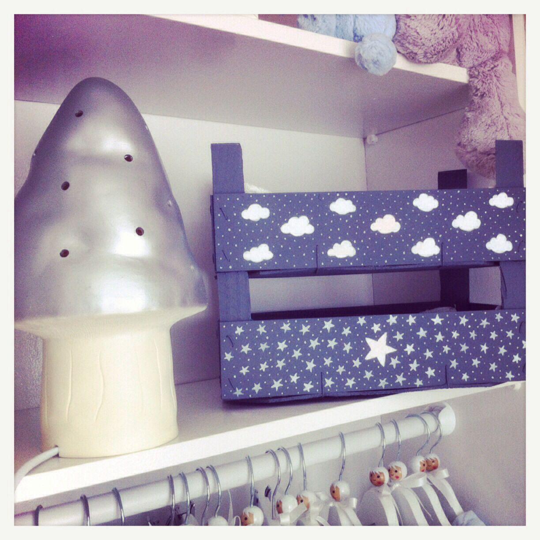 cajettes d cor nuage je craque boites pinterest nuage cagette et caisse. Black Bedroom Furniture Sets. Home Design Ideas