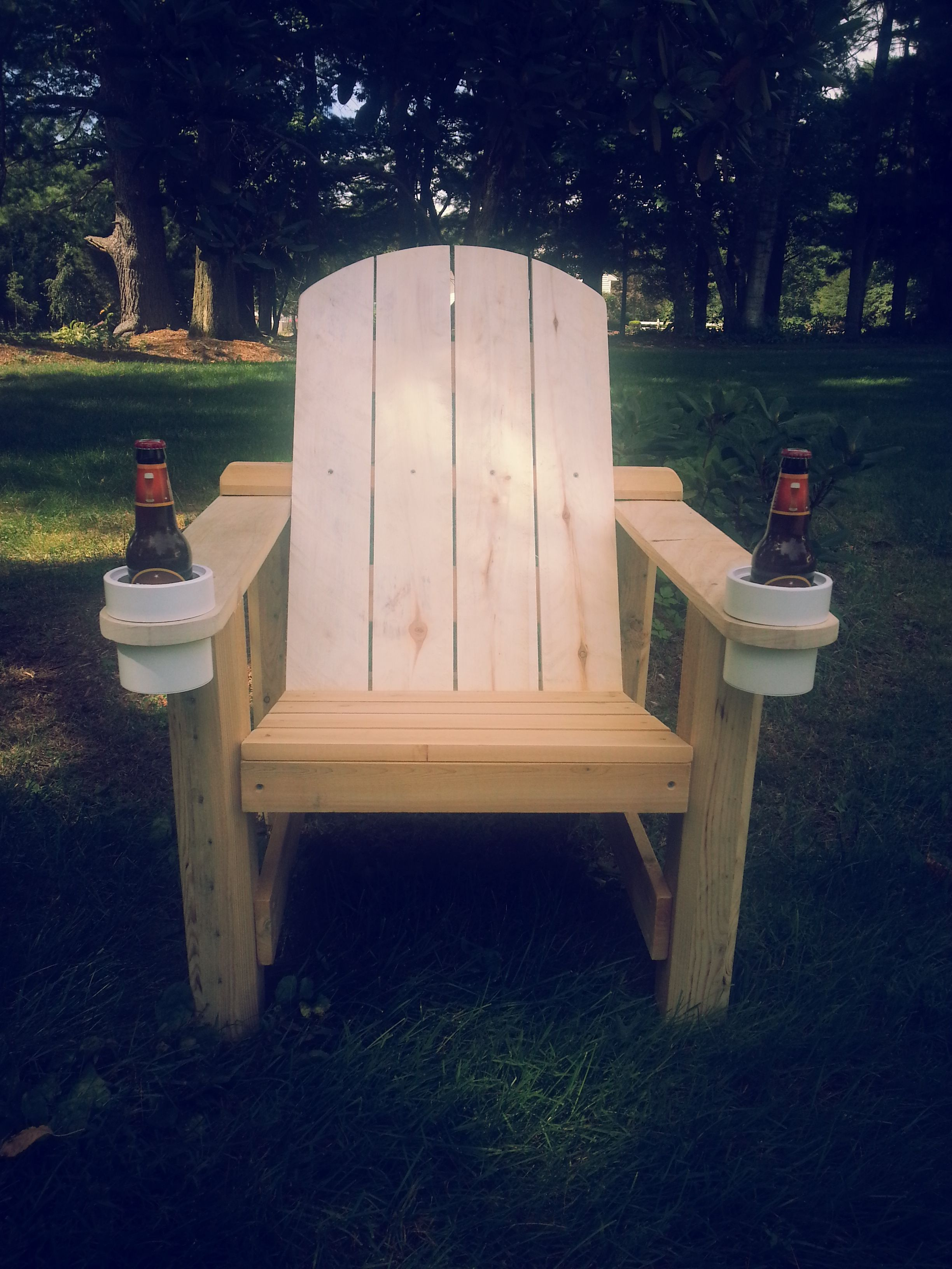 Of Kind Adirondack Drinkin' Chair Cup Drink