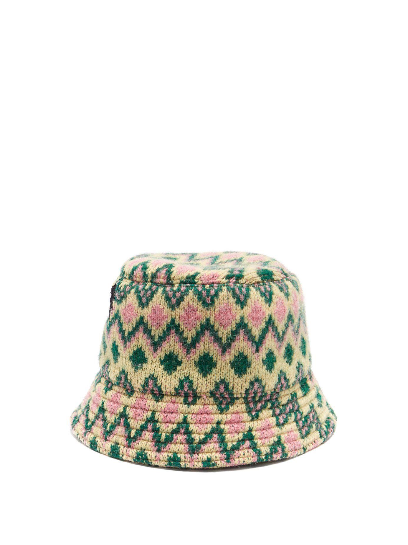 d31c3d90 Zigzag wool-knit bucket hat | Prada | jewelry & accessories in 2019 ...