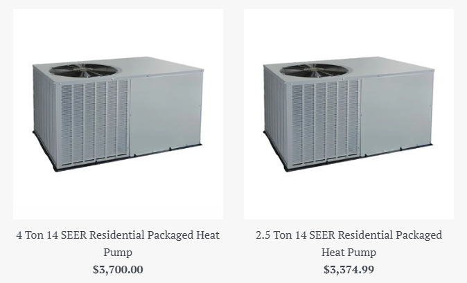 Heat Pump Package Unit Heat Pump Energy Efficient Heating Heating And Air Conditioning