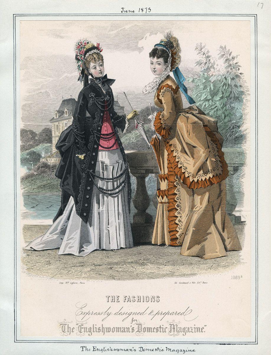 The Englishwoman's Domestic Magazine June 1873 LAPL