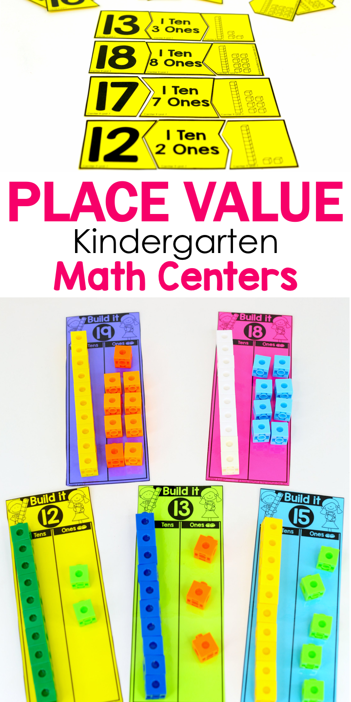 Kindergarten Math: Place Value | Kindergarten math ...