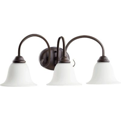 Photo of Fleur De Lis Living Bernardston 3-Light Vanity Light | Wayfair