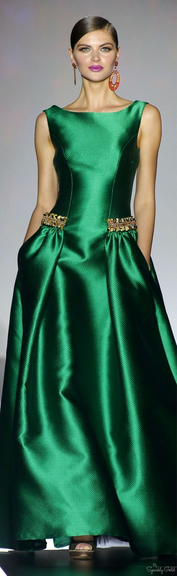 patricia avendaño 2016 | beautiful dresses, green dress, dresses