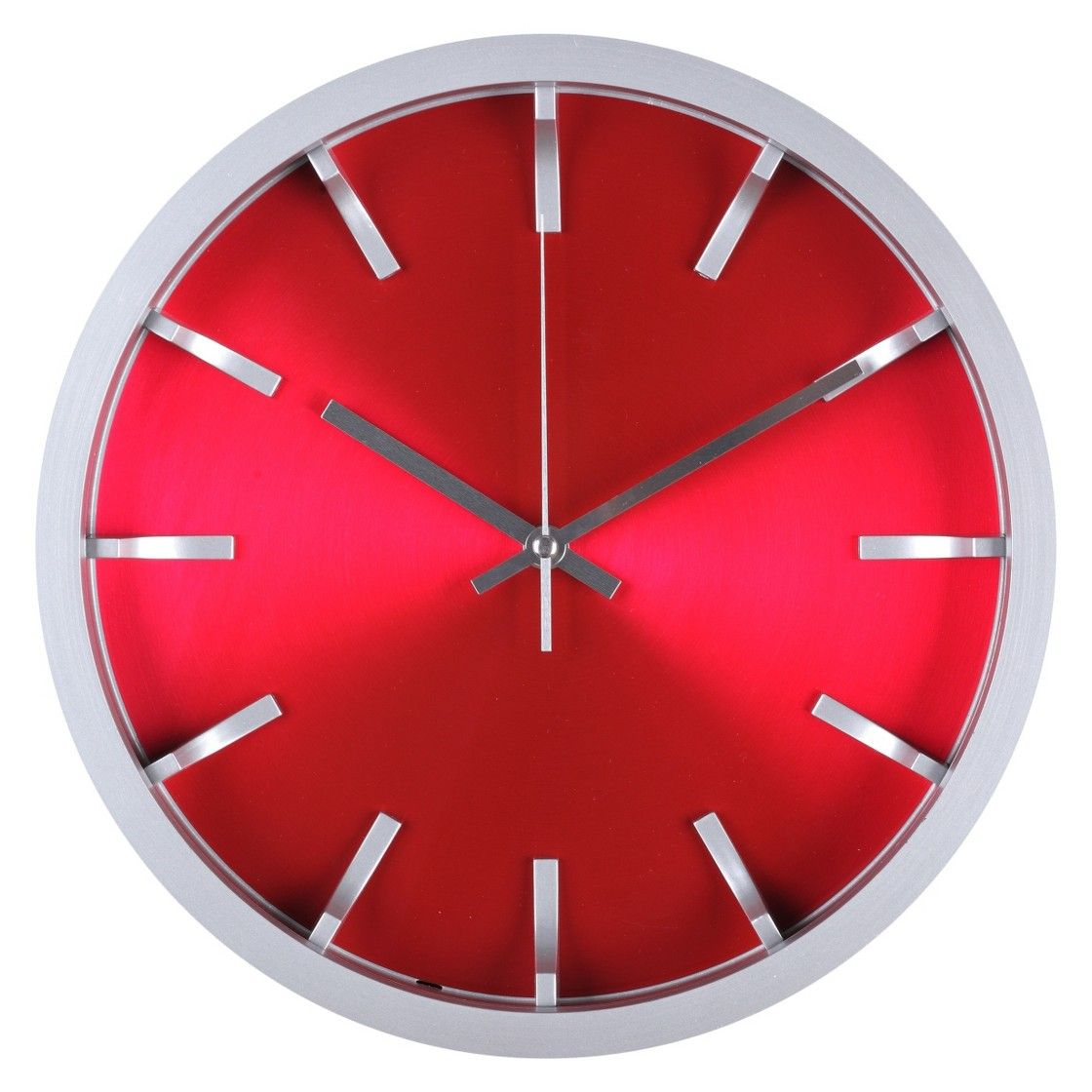 Threshold Modern Wall Clock Red