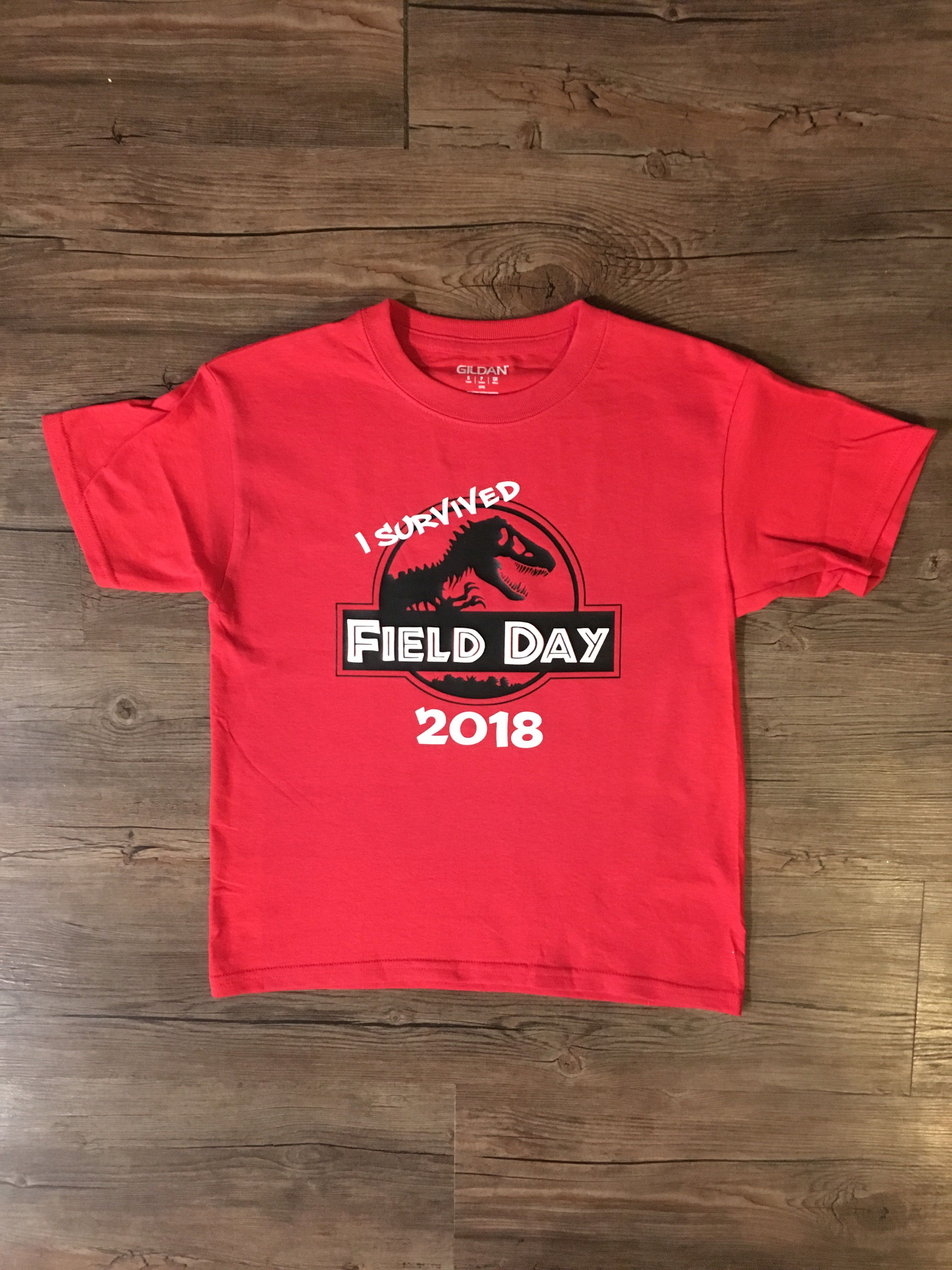 50f0d52d0ac21 Jurassic park field day shirt! | Styled For Fun | Field day, T shirt ...