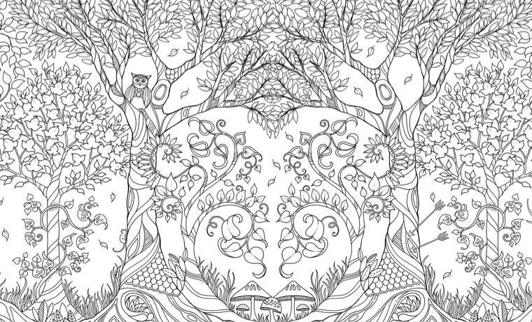 Jardín secreto sexo para colorear | Dibujos | Pinterest | Colorear ...