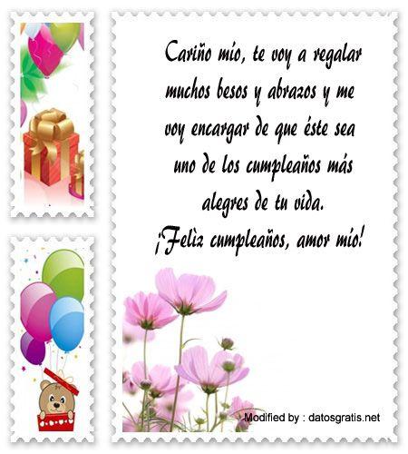 Descargar Mensajes Bonitos De Cumpleaños Para Mi Enamorado Mensajes De Texto De Cumpl Cumpleaños Para Mi Novio Mensajes De Cumpleaños Agradecimiento Cumpleaños