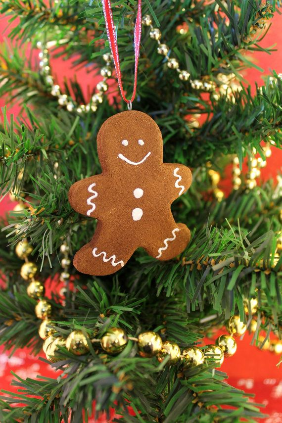 Gingerbread Man Cookie Cinnamon Scented Ornament
