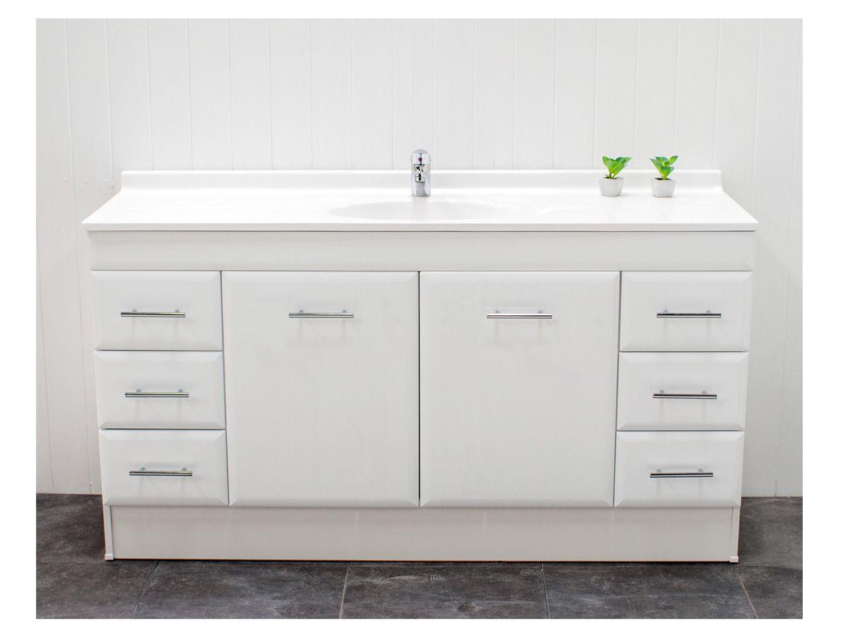 Essence 1 750mm wide shaving cabinet cibo design - Posh Bristol 1500 Single Vanity Unit