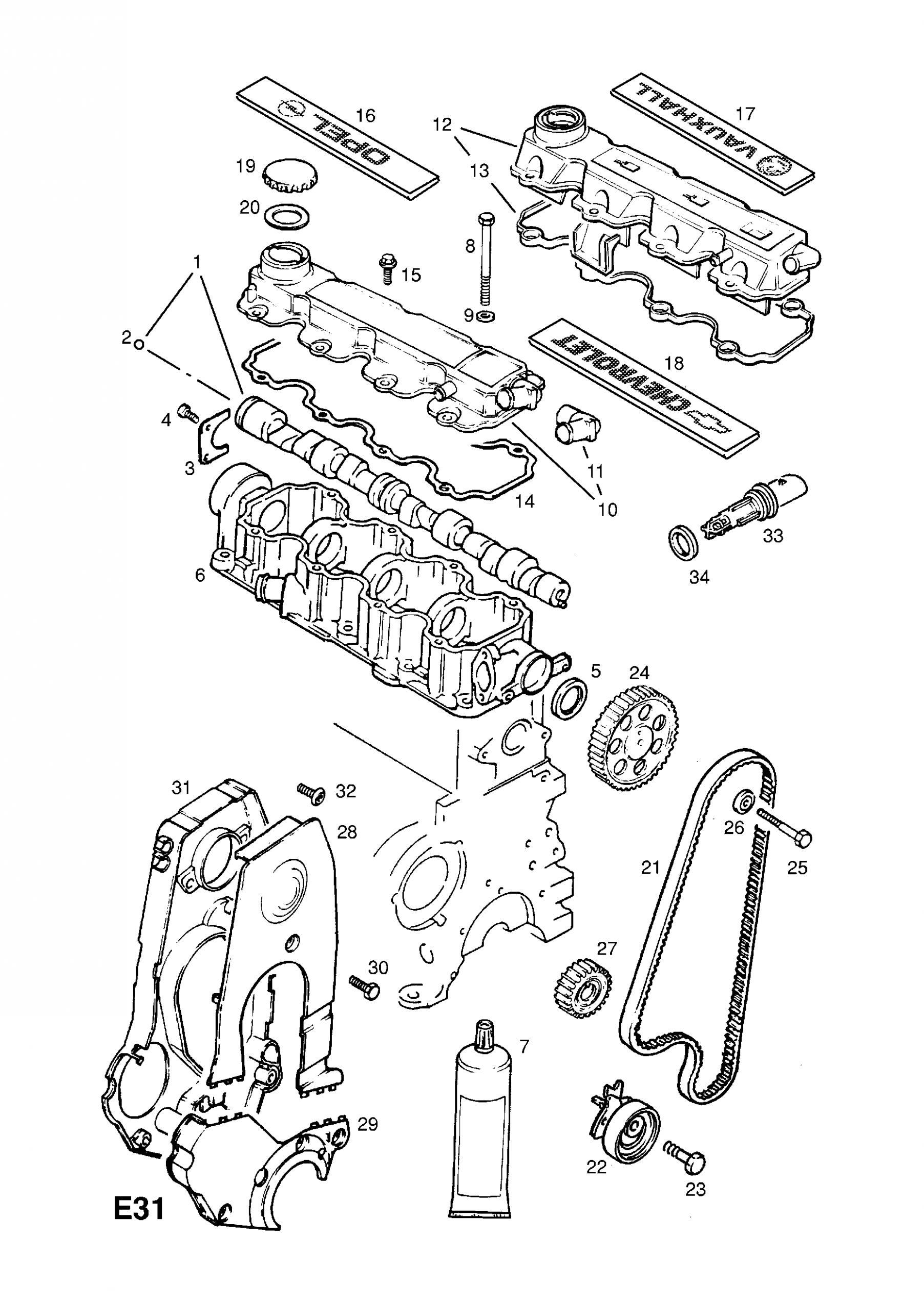 Opel Corsa Lite Engine Diagram List