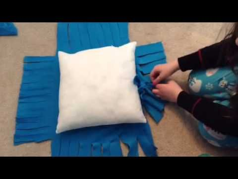 4 Different Ways To Tie A Fleece Blanket Youtube