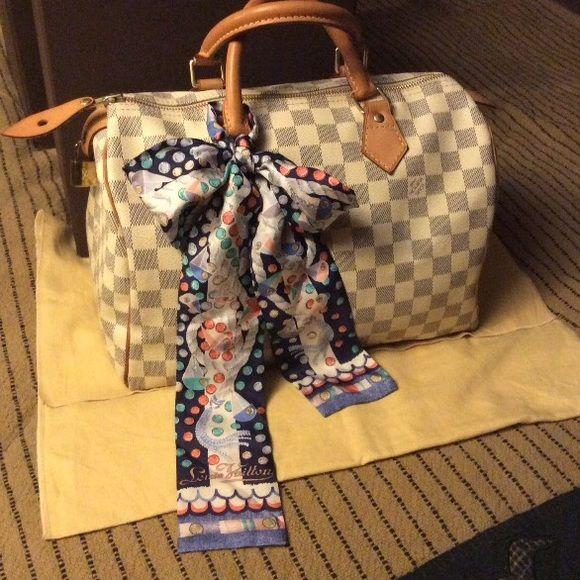 Pics For Mei Escale Bandeau Bag Scarf Louis Vuitton Accessories Scarves Wraps