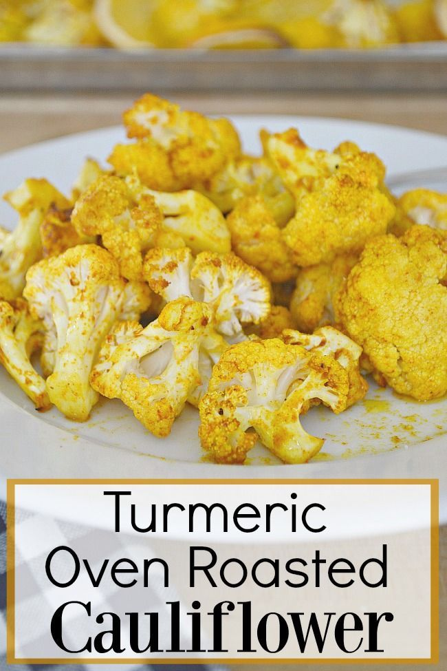 Photo of Easy Oven Roasted Cauliflower Recipe with Turmeric | Chatfield Court