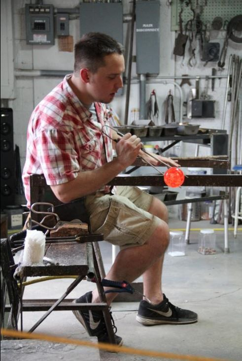 Glass Blowing In Blackburn Virginia Pictures