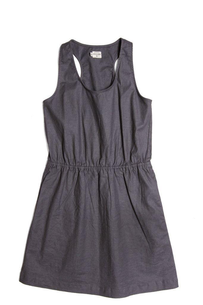 Fleer Grey Linen Dress // Bridge and Burn