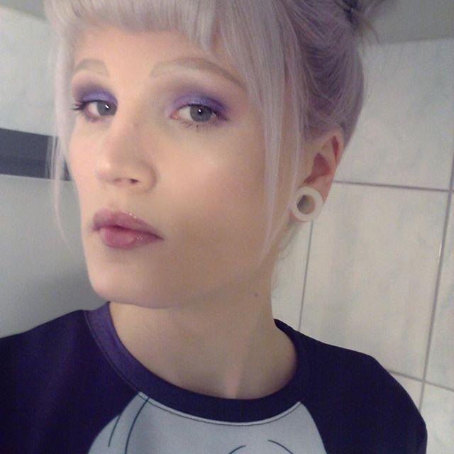 Top 100 lavender hair photos  See more http://wumann.com/top-100-lavender-hair-photos/