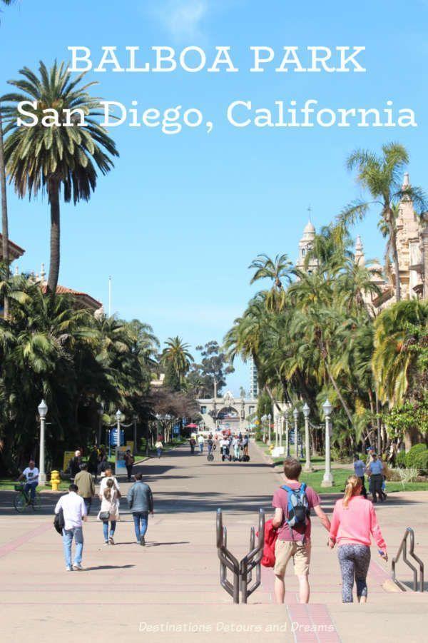 Exploring San Diego's Balboa Park -  Balboa Park in San Diego, California has lots to see and do: museums, art, architecturally interest - #Balboa #Diegos #Exploring #Historyarchitecture #Historymap #Historymuseum #Historysubject #Park #San