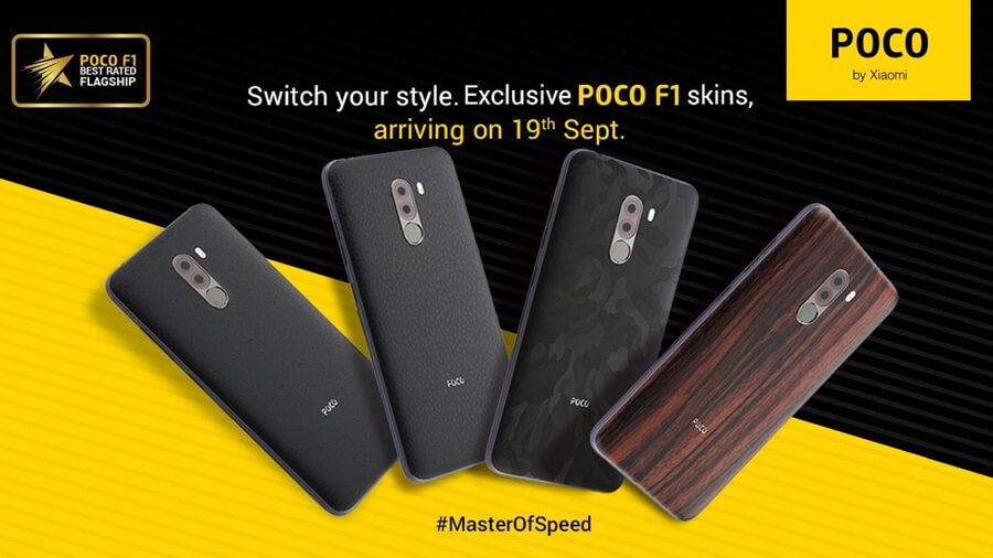 Xiaomi Pocophone F1 custom skins now available | Technology