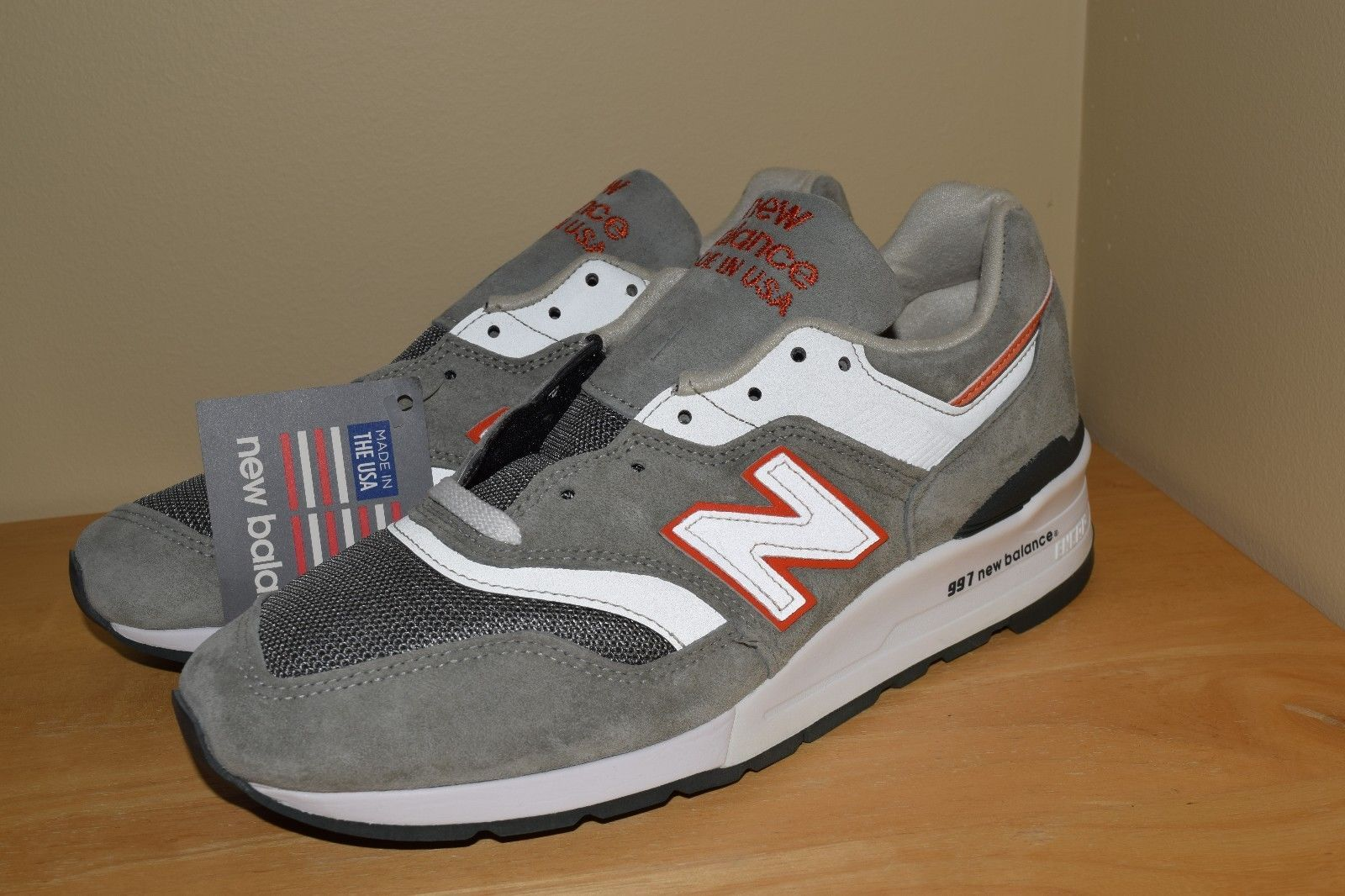 Balance 997 CHT Age of Exploration US 9 Gray/ Orange Made in ...
