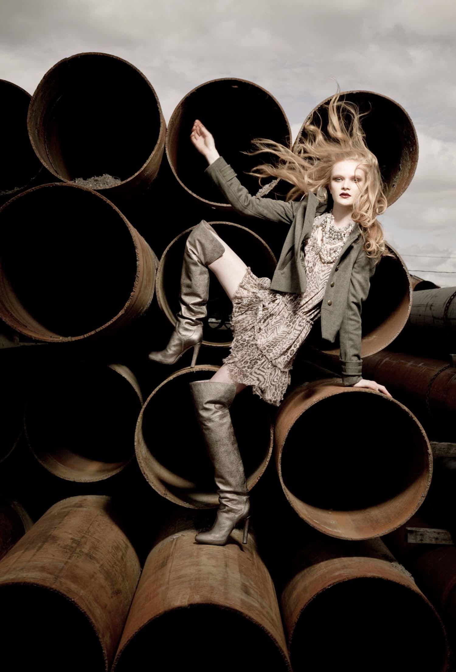Statement boots photo by Liz Von Hoene Fashion