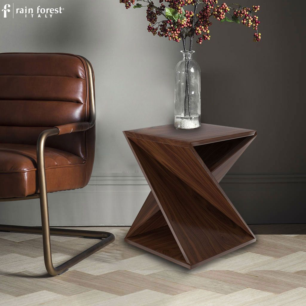 Twisted Side Table Which Can Be Use As