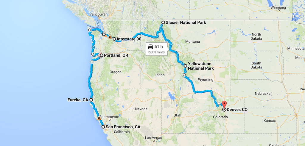Go On An Epic Northwest USA Road