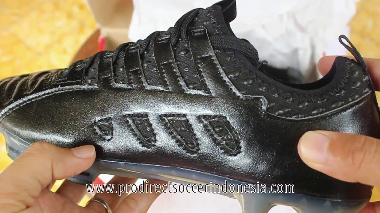 Sepatu Bola Puma Evopower Vigor 1 K Leather Fg Black 104003 07