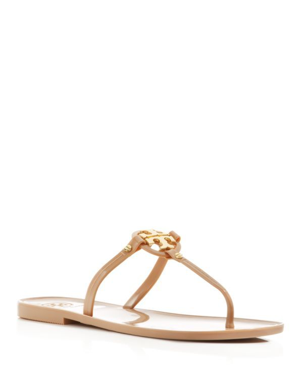 304ddb31a8eb Tory Burch Flat Thong Sandals - Mini Miller Jelly