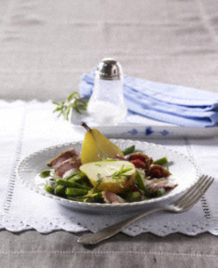 Das Rezept für Birnen, Bohnen & Speck und weitere kostenlose Rezepte auf LECKER.de