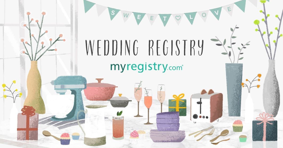 We Re Tying The Knot You Can Check Out Our Registry Here In 2020 Wedding Registry Wedding Table Decorations Plush Throw Blankets